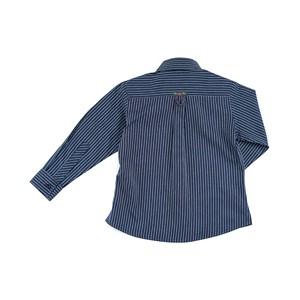 Camisa Masculina Infantil / Kids Em Tricoline - 1 + 1 Marinho