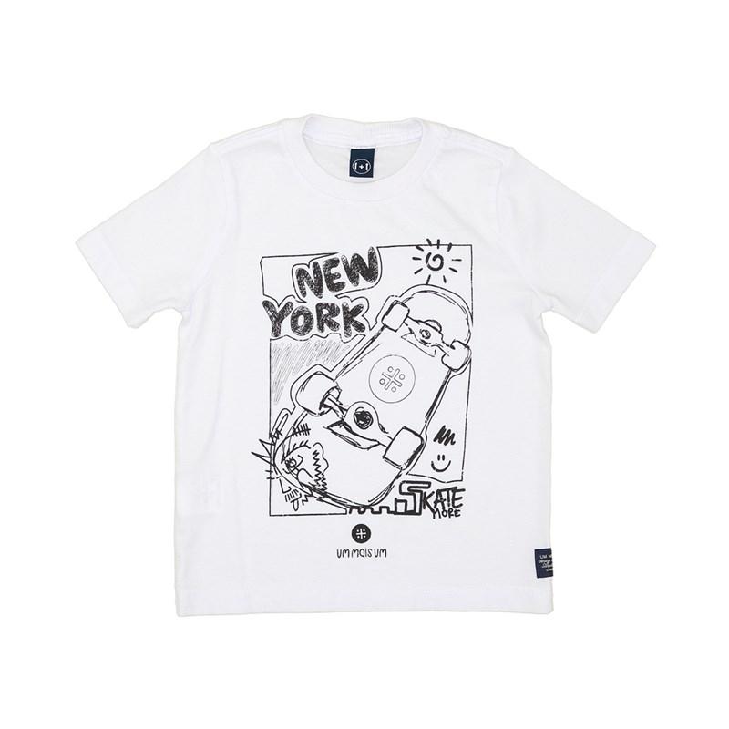 Camiseta Infantil Masculina Caça-Palavras Para Colorir Com Canetinhas Hidrográficas Preto