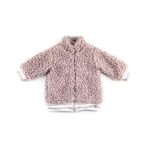 - Casaco Feminino Infantil / Baby Em Cetim Charmeuse - 1+1 Rose