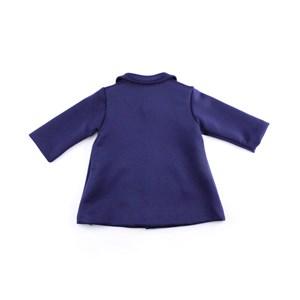 - Casaco Feminino Infantil / Baby Em Neoprene Liso - 1+1 Marinho