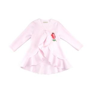 Casaco Feminino Infantil / Kids Em Neoprene Liso - 1+1 Rosa Claro