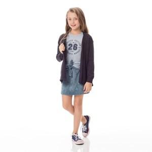 Casaco Infantil / kids em tricot - um mais um CHUMBO