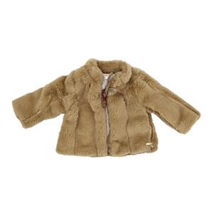 Casaco - Pele Infantil / Baby Em Pele - Um Mais Um Bege Claro