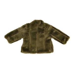 Casaco - Pele Infantil / Baby Em Pele - Um Mais Um Verde