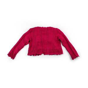 Casaco-Tricot Pink