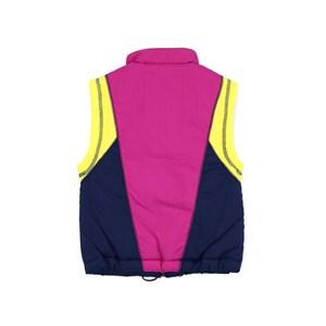 Colete Feminino Infantil / Teen Em Nylon De Poliamida C/Ziper Frontal E Pingente Regulador Na Barra Violeta