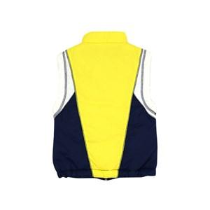 Colete Feminino Infantil / Teen Em Nylon De Poliamida C/Ziper Frontal E Pingente Regulador Na Barra Amarelo Canario