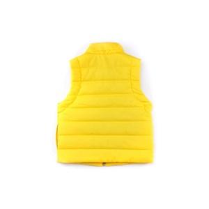 Colete Masculino Infantil Em Malha Strong E Nylon - 1+1 Amarelo Canario