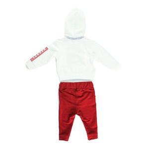 Conjunto Masculino Infantil / Baby Moletom + Calça Em Malha Strong E Moletinho Com Lycr - Um Mais Um Vinho