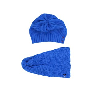 Gorro/Cachecoll-Tricot Kids Azul Jeans