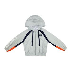 Jaqueta infantil/kids masculino em nylon tac tel - um mais um CINZA CLARO