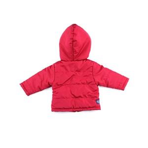 Jaqueta Masculina Infantil / Baby Em Nylon Chillan Com Malha Penteada - Um Mais Um Vermelho
