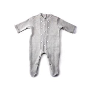 Macacão Baby / Maternidade Modelo Feminino - 1+1 Cinza Claro
