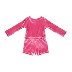 Macaquinho Infantil / Baby Em Plush - Beabá Pink