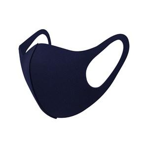 Máscara De Proteção Em Tecido Neoprene Modelo Adulto Feminino - Cores Lisas - Um Mais Um Marinho