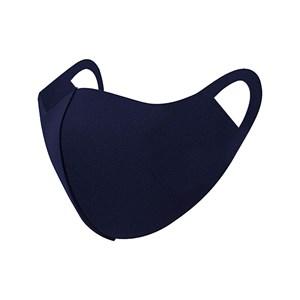 Máscara De Proteção Em Tecido Neoprene Modelo Feminino G Adulto Com Estampas Variadas - Um Mais Um Marinho