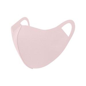 Máscara De Proteção Em Tecido Neoprene Modelo Feminino G Adulto Com Estampas Variadas - Um Mais Um Rosa Claro