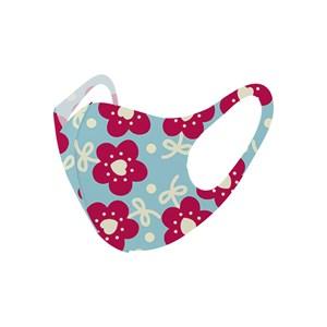 Máscara De Proteção Em Tecido Neoprene Modelo Infantil - Estampas Variadas - Um Mais Um Pink