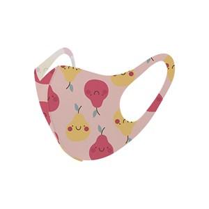 Máscara De Proteção Em Tecido Neoprene Modelo Infantil - Estampas Variadas - Um Mais Um Salmao