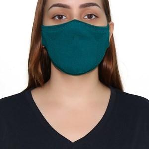 Máscara De Proteção Em Tritôt Com Filtro Duplo De Tnt Modelo Feminino Adulto - Um Mais Um Petroleo