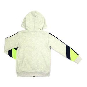 Moletom Infantil / Teen Em  Moletom Sem Felpa Dupla Face C/Deltalhes - Two Verde Fluor
