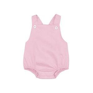 Pimpão Feminino Infantil / Baby Em Tricoline Silky - 1+1 Rosa Claro