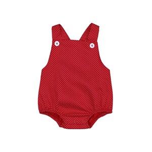 Pimpão Feminino Infantil / Baby Em Tricoline Silky - 1+1 Vermelho