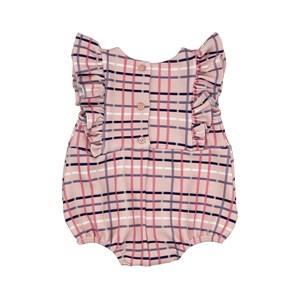 Pimpão Infantil / Baby Em Malha Casinha De Abelha Estampado - Um Mais Um Rosa Claro