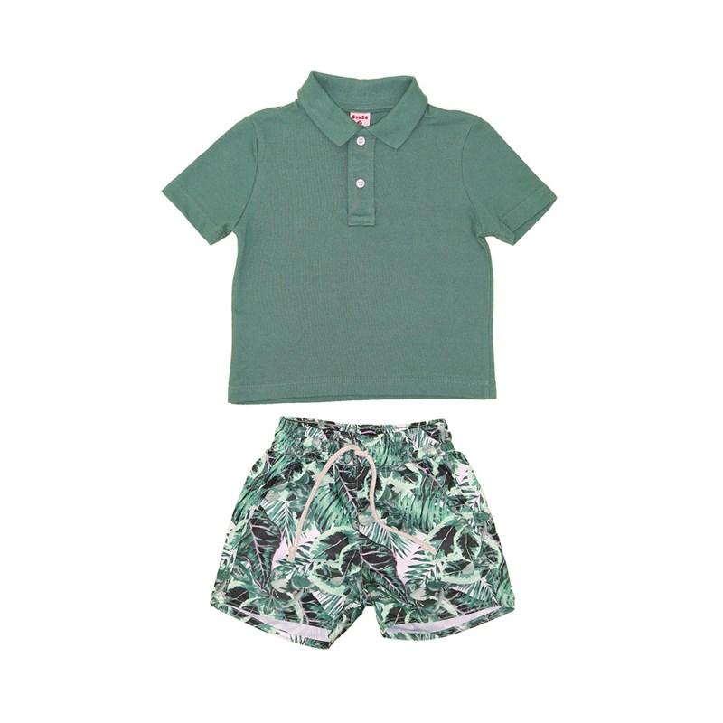 Polo/Bermuda Verde