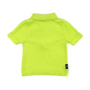 Polo Infantil / Baby Em Piquet Com Bordado De Cahorrinho - Um Mais Um Lima