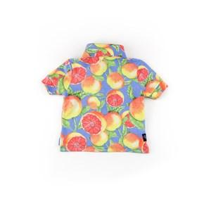 Polo Infantil / Baby Masculina Em Piquet - 1+1 Amarelo Canario