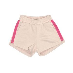 Short Feminino Infantil / Teen Em Moleton Sem Felpa C/Cadarço Nas Laterais  - Two In Rose
