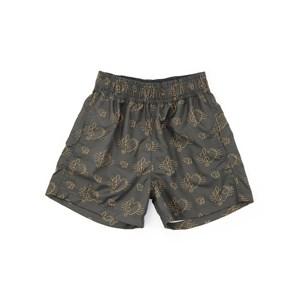 Short Infantil / Teen Em Nylon Estampado- Two Preto