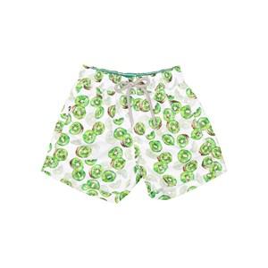 Short Masculino Em Nylon Estampado Verde