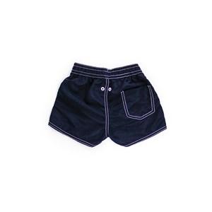 Short Masculino Infantil / Kids Em Nylon Tactel - Um Mais Um Marinho