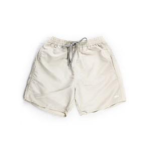Short Masculino Infantil / Teen Em Nylon Tactel - Twoin Bege Claro