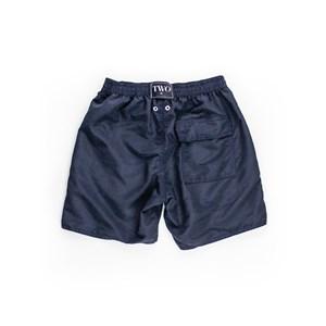 Short Masculino Infantil / Teen Em Nylon Tactel - Twoin Marinho