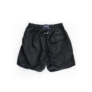 Short Masculino Infantil / Teen Em Nylon Tactel - Twoin Preto