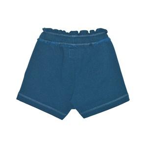 Short-Saia  Feminino Infantil / Teen Em Moletom C/Lycra S/Felpa C/Cadarço Nas Laterais  - Two In Azul