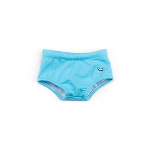 Sunga Infantil / Baby Em Lycra Praia - Um Mais Um Azul Claro