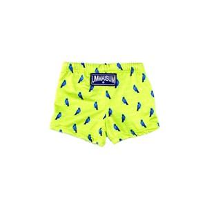 Sunga-Short Infantil / Baby Em Lycra Leve - Um Mais Um Verde