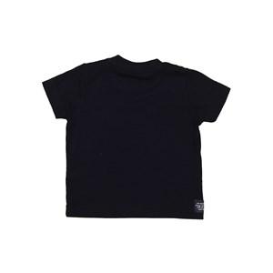 T-Shirt Baby Menino Estampa Frontal Preto