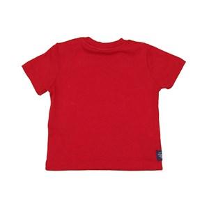 T-Shirt Baby Menino Estampa Frontal Vermelho