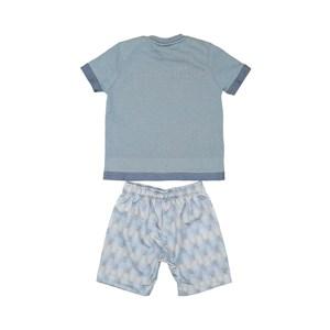T-Shirt/Bermuda Azul