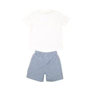 T-Shirt/Bermuda Azul Claro