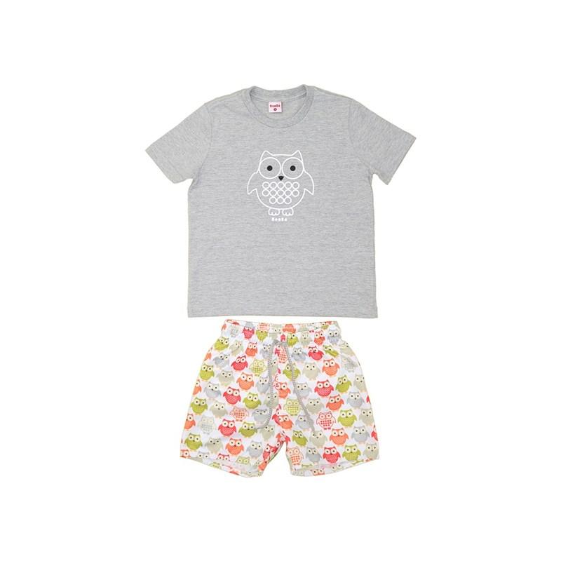 T-Shirt/Bermuda Branco