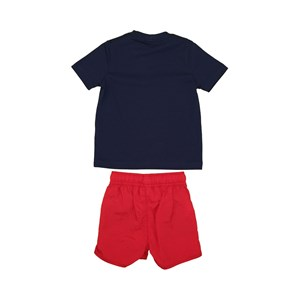 T-Shirt/Bermuda Vermelho