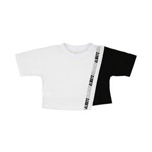 "T-Shirt Cropped ""Always Changing"" Branco"