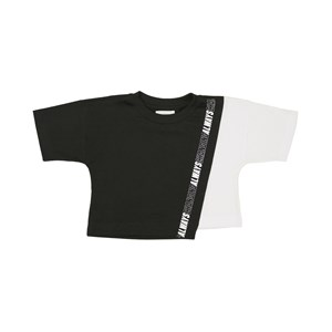 "T-Shirt Cropped ""Always Changing"" Preto"