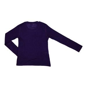 T-Shirt Feminino Infantil / Teen Em Viscolycra C/Estampa Em Aplique De Tecido - Two In Marinho
